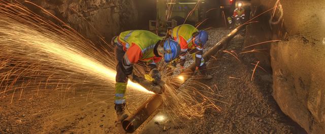 Kittilässä sijaitsee Euroopan suurin kultakaivos, Agnico Eagle Finland.
