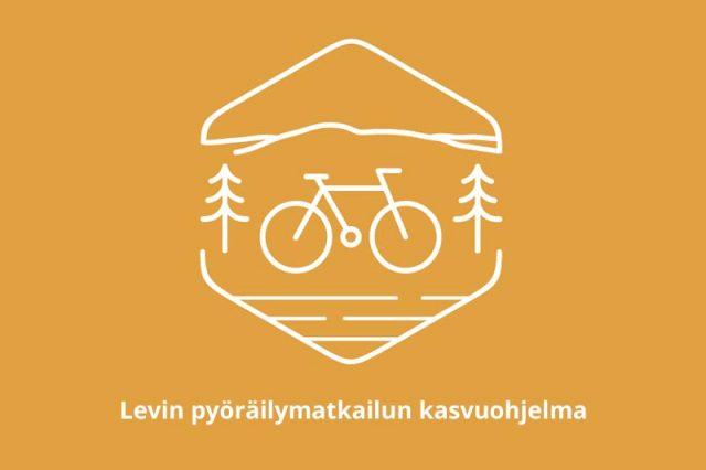 Logo ja teksti Levin pyöräilymaktailun kasvuohjelma