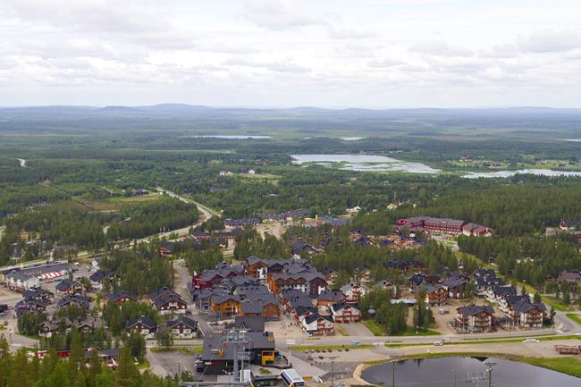 Levin matkailukeskus tarjoaa mahdollisuuksia useiden eri alojen yrittäjille.